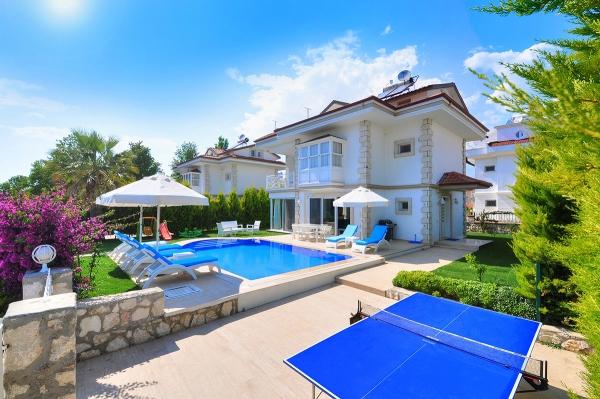 Heated Pool Villas
