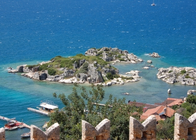 Kekova Sunken City  post image